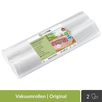 2 Vakuumrollen 30x600cm 'Original' | culivac